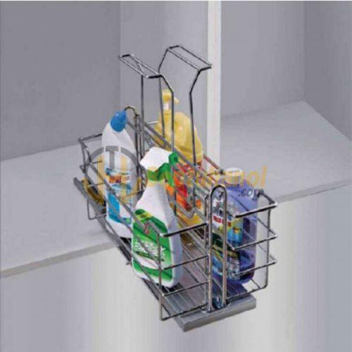 Giá để chai lọ tẩy rửa INOXEN HU02