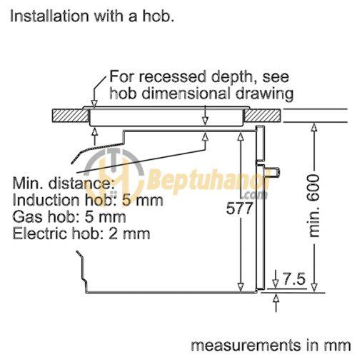 Lò Nướng Bosch HBG635BS1