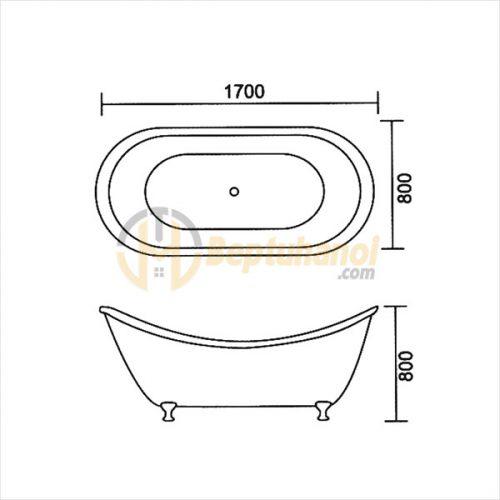 Bồn Tắm Hoàng Đế SEWO G-0003
