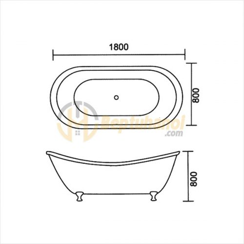Bồn Tắm Hoàng Đế SEWO G-0004